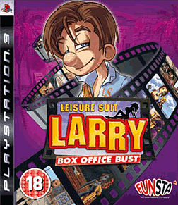 Leisure Suit Larry: Box Office Bust PlayStation 3 Cover Art