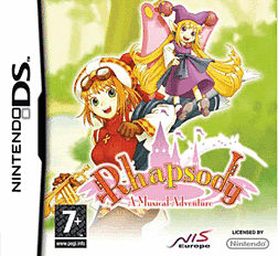 Rhapsody: A Musical Adventure DSi and DS Lite Cover Art