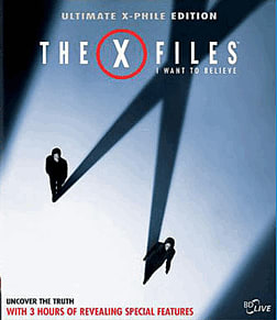 X-Files: I Want To Believe Blu-Ray
