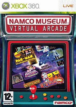 Namco Museum: Virtual Arcade Xbox 360 Cover Art
