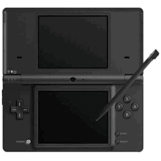 Nintendo DSi Black Console DSi and DS Lite