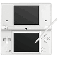 Nintendo DSi White Console DSi and DS Lite