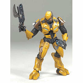 Halo GOLD Elite Assault Figurine - GAME Group Exclusive Toys and Gadgets