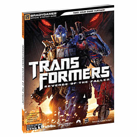 Transformers: Revenge of The Fallen Strategy Guide Strategy Guides and Books