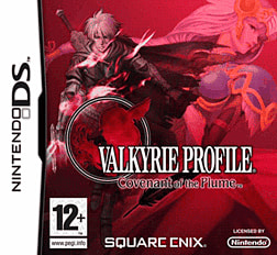 Valkyrie Profile: Covenant of the Plume DSi and DS Lite Cover Art