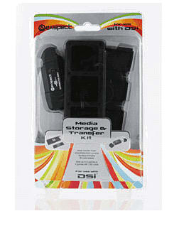 Exspect Nintendo DSi Games Case and SD Card Reader Accessories