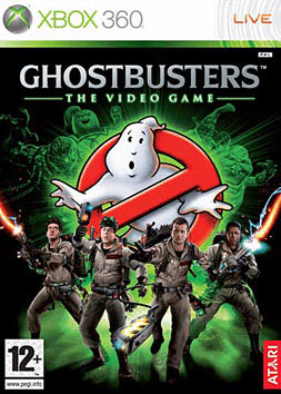 Ghostbusters Xbox 360 Cover Art