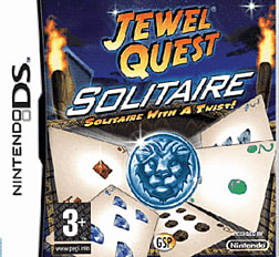 Jewel Quest Solitaire DSi and DS Lite Cover Art