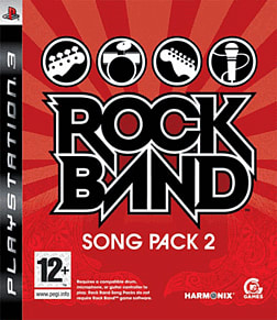 Rock Band Song Pack 2 PlayStation 3 Cover Art