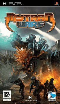 Mytran Wars PSP Cover Art