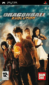 Dragonball Evolution PSP Cover Art