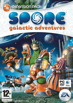 Spore: Galactic Adventures PC Games and Downloads Cover Art