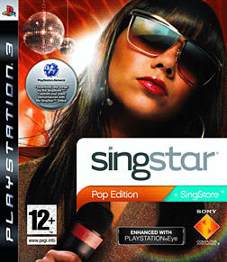 SingStar: Pop Edition PlayStation 3 Cover Art