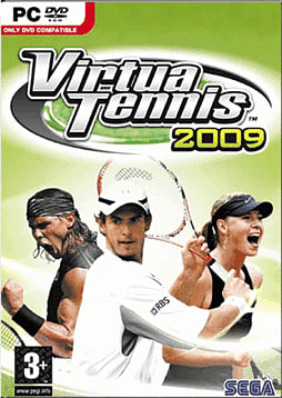 Virtua Tennis 2009 PC Games and Downloads Cover Art
