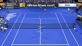 Virtua Tennis 2009 screen shot 1
