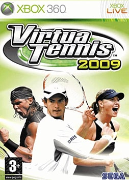 Virtua Tennis 2009 Xbox 360 Cover Art