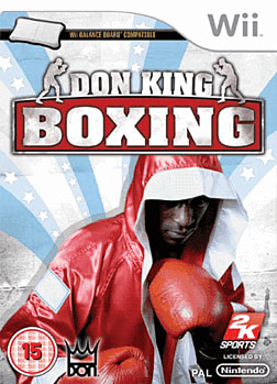 Don King Boxing (Wii Balance Board Compatible) Wii Cover Art