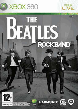 The Beatles: Rock Band (Software Only) Xbox 360 Cover Art