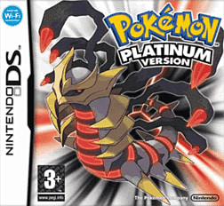 Pokemon Platinum Version DSi and DS Lite Cover Art