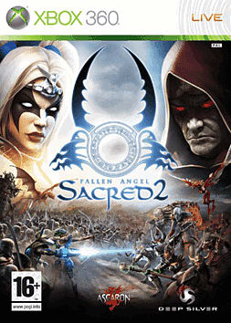 Sacred 2: Fallen Angel Xbox 360 Cover Art