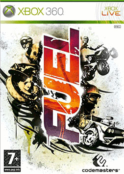 Fuel Xbox 360 Cover Art