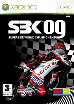 SBK 09 Xbox 360 Cover Art
