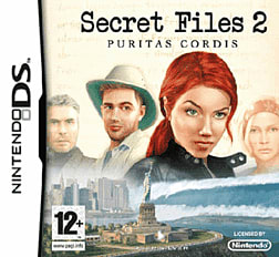 Secret Files 2: Puritas Cordis DSi and DS Lite Cover Art
