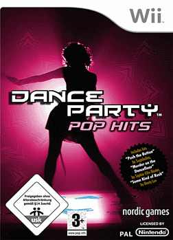 Dance Party: Pop Hits (including Dance Mat) Wii Cover Art