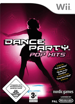 Dance Party Pop Hits Solus Wii Cover Art
