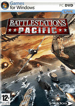 Battlestations Pacific PC Games and Downloads Cover Art