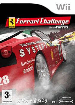 Wii Ferrari Challenge Deluxe Wii Cover Art
