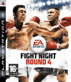 Fight Night Round 4 PlayStation 3 Cover Art