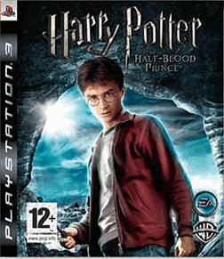 Harry Potter and the Half Blood Prince PlayStation 3 Cover Art
