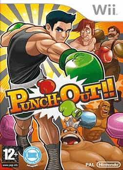 Punch Out (Wii Balance Board Compatible) Wii Cover Art