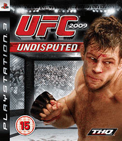 UFC 2009 Undisputed PlayStation 3 Cover Art