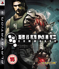Bionic Commando PlayStation 3 Cover Art