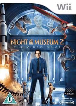 Night at the Museum 2 Wii Cover Art