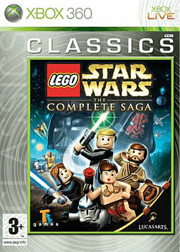 Lego Star Wars: The Complete Saga - Classics Xbox 360 Cover Art