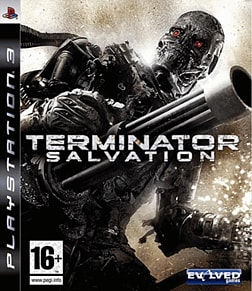 Terminator Salvation PlayStation 3 Cover Art