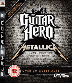 Guitar Hero: Metallica (Software Only) PlayStation 3 Cover Art