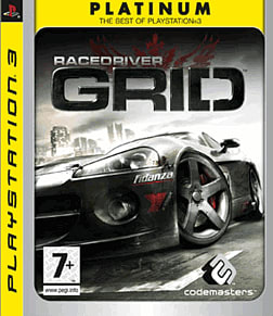 Race Driver Grid Platinum PlayStation 3 Cover Art