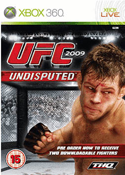 UFC 2009 Undisputed (with Downloadable Content) Xbox 360 Cover Art