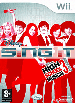 Disney Sing It!  High School Musical 3: Senior Year Wii Cover Art