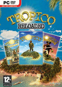 Tropico Reloaded PC Games and Downloads Cover Art