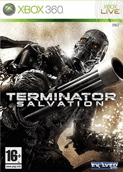 Terminator Salvation Xbox 360 Cover Art