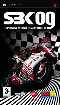 SBK 09 PSP Cover Art