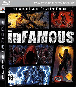 inFAMOUS Special Edition PlayStation 3 Cover Art