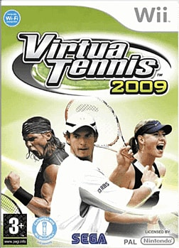Virtua Tennis 2009 (Wii MotionPlus Compatible) Wii Cover Art