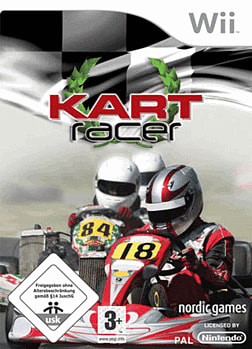 Kart Racer (with Wheel) Wii