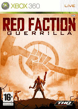 Red Faction Guerrilla Xbox 360 Cover Art